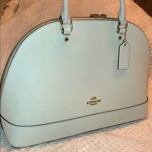 Cream white Coach purse